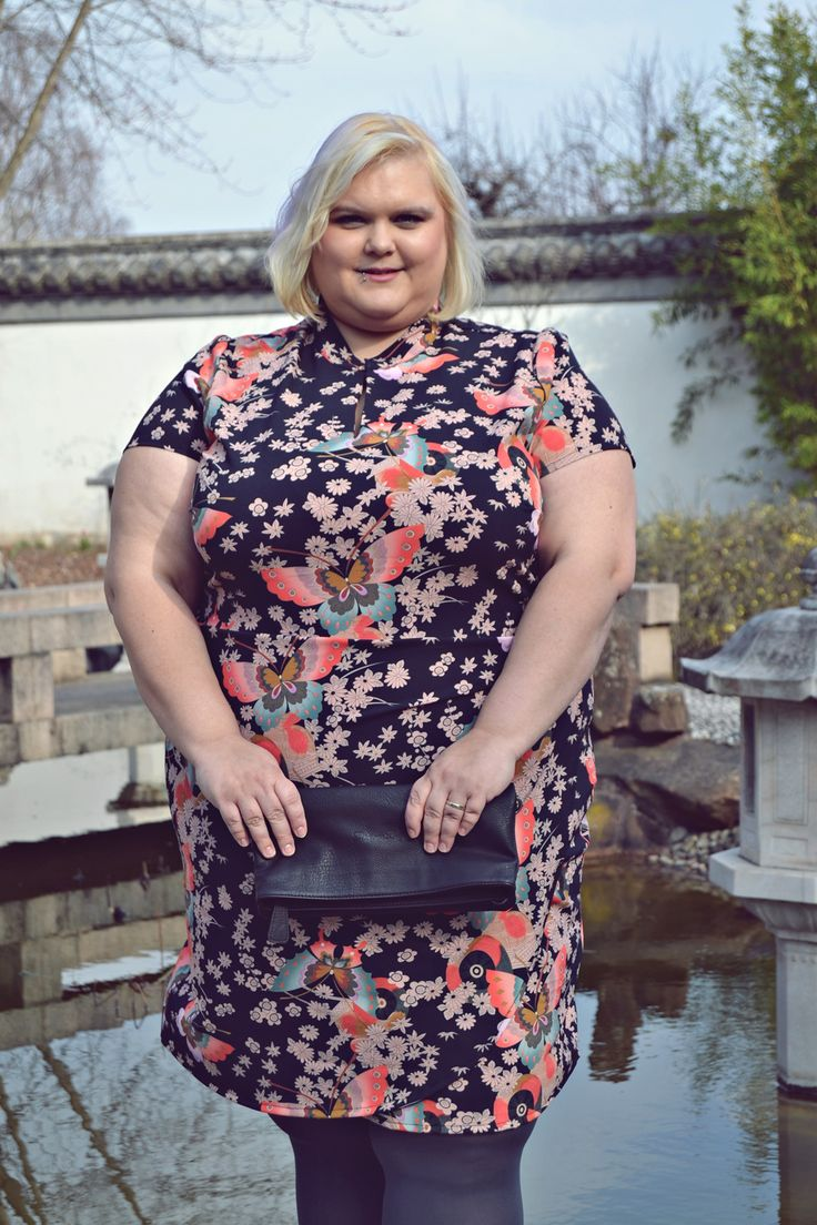 Plus size Kimono-Dress Anna Scholz for Sheego