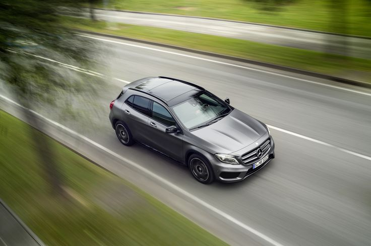 The 2015 Mercedes-Benz GLA boasts a turbocharged, 208-horsepower inline-four engine. Enter for a chance to win here: www.ktla.com/GLA.