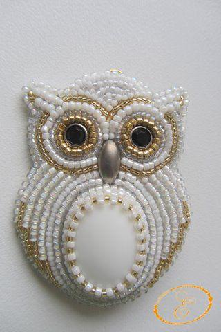 White Owl. | biser.info - всё о бисере и бисерном творчестве