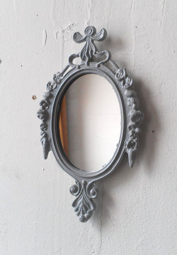 Small Wall Frame or Mirror in Vintage Dove by SecretWindowMirrors, $19.00