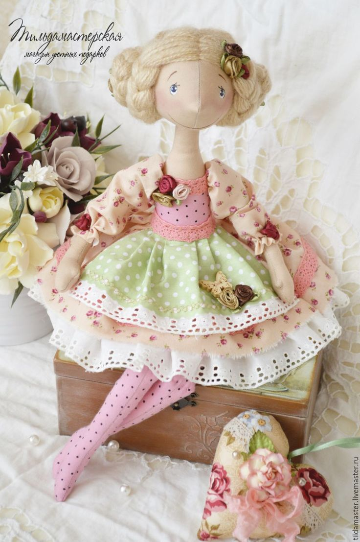 Купить Цветочница Розалина - тильдамастер, фея, Цветочная фея, принцесса…