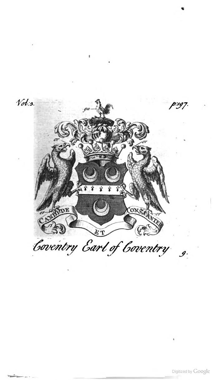 Peerage of England: Containing a Genealogical and