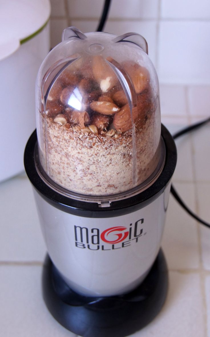 Tons of recipes all made in the Magic Bullet.