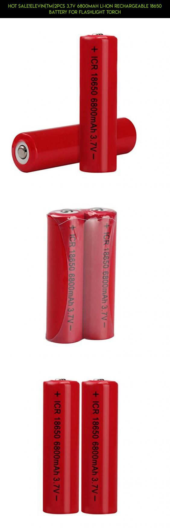 Hot Sale!Elevin(TM)2PCS 3.7V 6800mAH Li-ion Rechargeable 18650 Battery for Flashlight Torch #shopping #wltoys #tech #drone #road #camera #led #vehicle #parts #off #technology #kit #gadgets #products #racing #fpv #plans #light