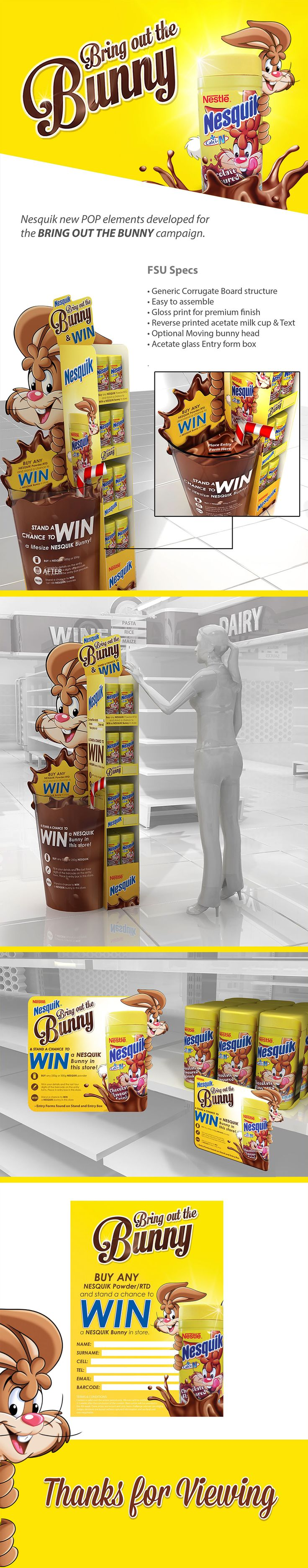 NESQUIK POP CAMPAIGN on Behance - Think to #MPV2016 the marketing at #retail show reference in France ! Visit us : www.mpv-paris.com