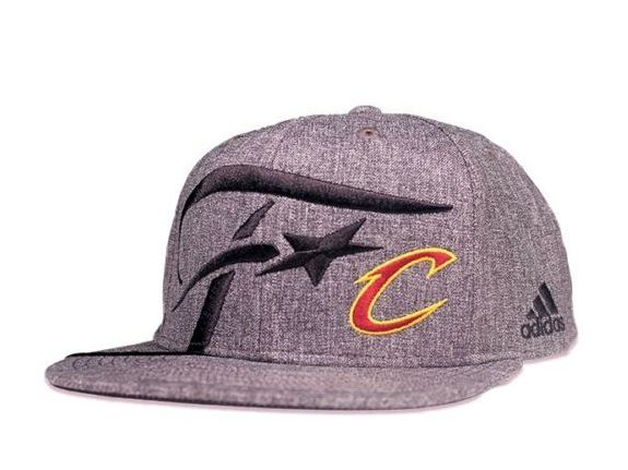 NBA Finals Cleveland Cavaliers SnapBack Hat 2016 Adidas Locker Room Official-2