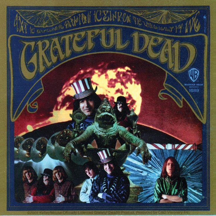 Grateful Dead - First Album Decal