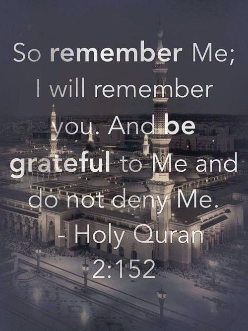 do not deny Allah