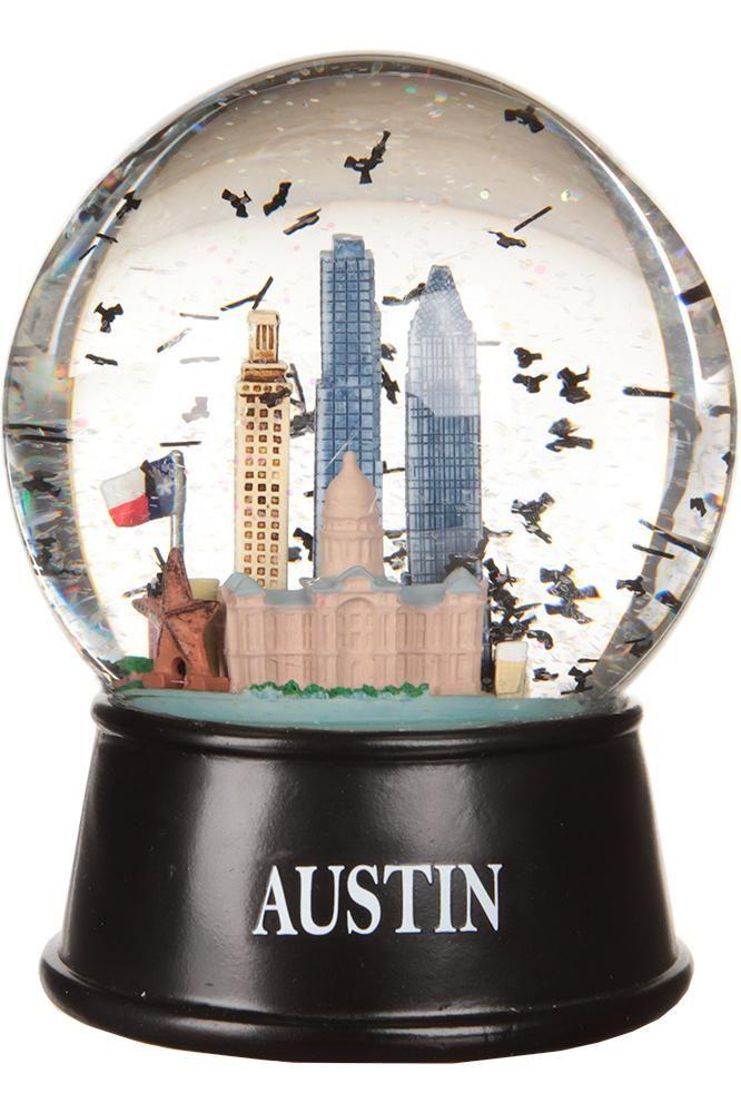 Austin, Texas Flying Bats Globe | University Co-op Online