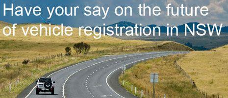 Roads & Maritime - Registration