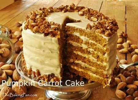 Ben Starr Pumpkin Carrot Cake