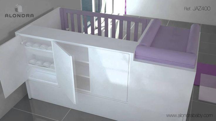 Descubre unos de nuestros módulos adicionales estrella para las cunas convertibles de bebé Alondra. Un armario zapatero para guardar cada uno de los zapatitos de tu bebé ¡Diseño y utilidad a la vez!