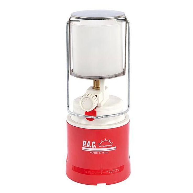 Bo-Camp Gaslamp Populair met piezo systeem  Een compacte en zeer populaire gaslamp. Voorzien van een stevige kunststof behuizing. Het piëzo-systeem zorgt voor een probleemloze ontsteking en de lantaarn is voorzien van een regelbaar vermogen van 10 tot 80 Watt. Werkt op een prikcartouche van 190 gram.  EUR 32.95  Meer informatie
