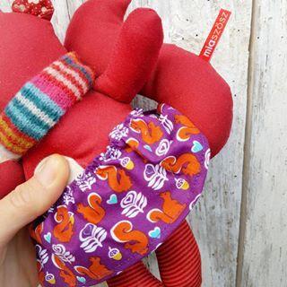 Vasárnapi ünneplőnek pedig mókust mókussal!…#handmadegifts #forestfriends #mókus #squirrellove #autumncolors #newstock #onmydesk #workinprogress #workingmum #mompreneur #wahm #instakismama #nurserydecor #mik #miaszosz
