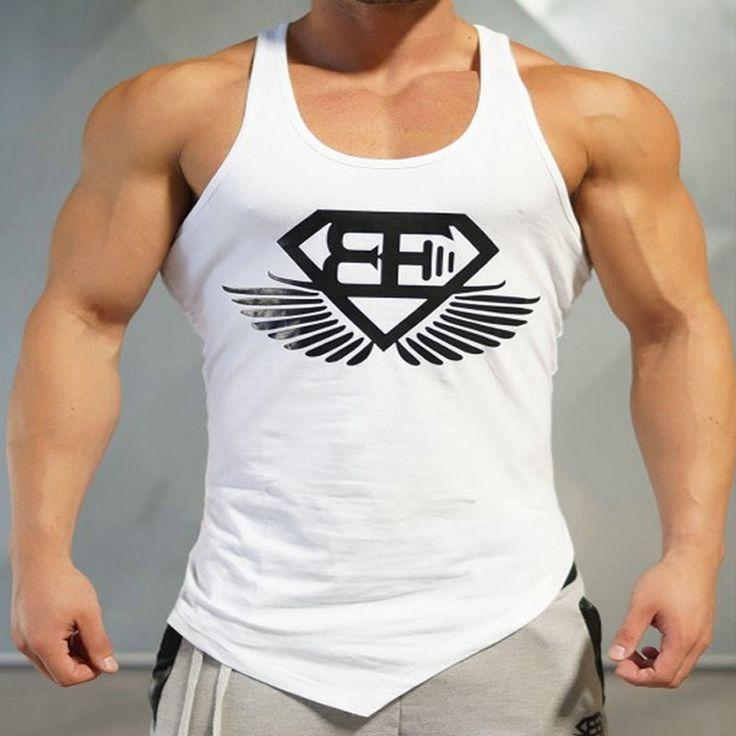 2016 Brand Casual vest men t shirts Summer Cotton Fit Men Tank Tops Clothing