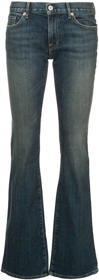 Nili Lotan Alek Japanese stretch bootleg jeans