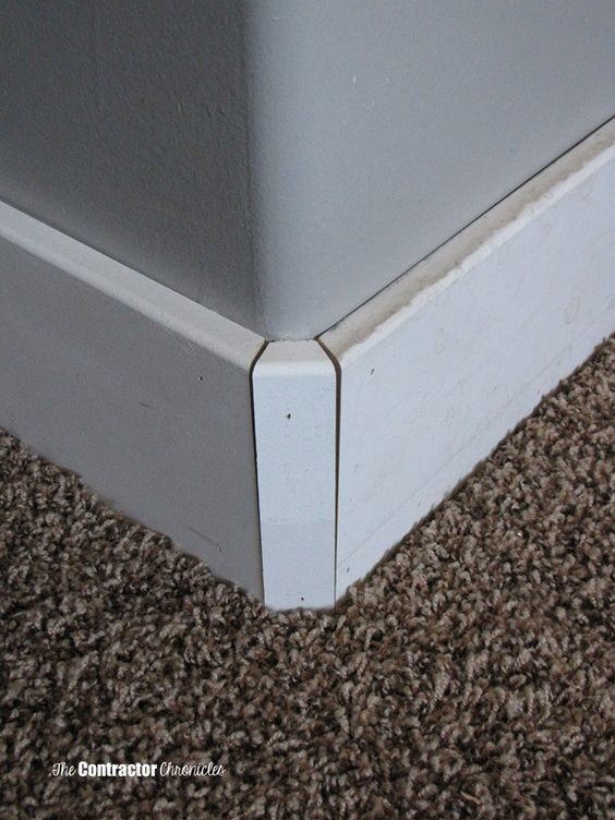 12 Best Baseboards For Rounded Corners Images On Pinterest Baseboard