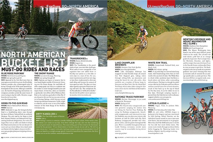 From mountain bike stage races to 200-plus-mile road rides to alpine tours, these are the events and rides you need to put on your priority