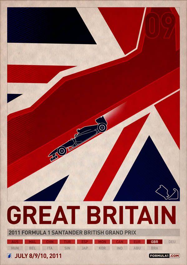 Formula 1 2011 Posters from www.DesignModo.com #GrandPrix #FormulaOne #cars