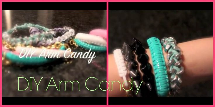 ♡ DIY Arm Candy. Hello Berry Inspired & Hexnut Bracelets ♡ | Back to School 2013
