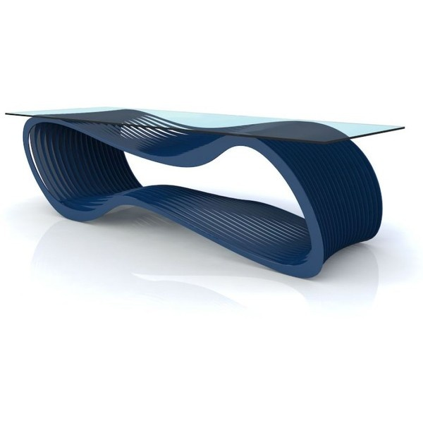 Arktura Loop Coffee Table   Blue By None,