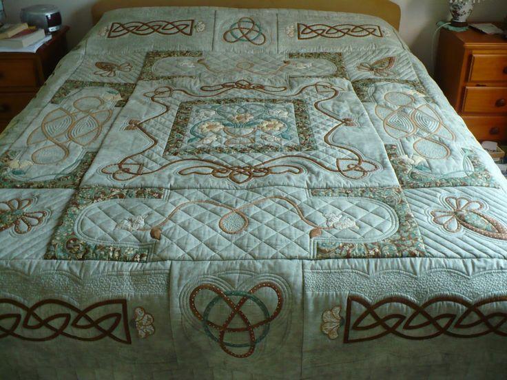 The 25+ best Celtic quilt ideas on Pinterest | Cnc machine price ... : irish quilt tutorial - Adamdwight.com