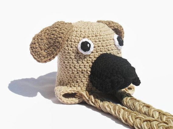 Great Dane Hat Newborn Great Dane Hat Puppy by DeesCozyCreations