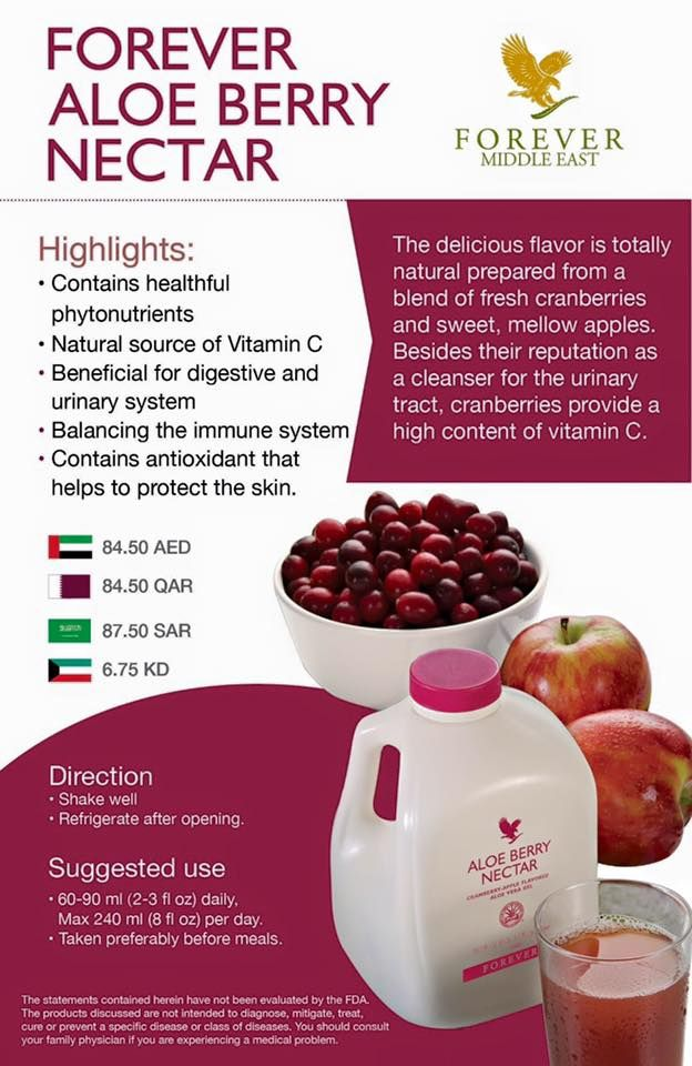 Forever Aloe Berry Nectar Minuman Antioksidan Berasaskan Aloe Vera dan Buah Kranberi ~ Vitamin Untuk Semua