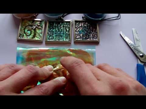 Faux Carnival Glass - Finished Pendant, Give A Way & Another Fantasy Film Tutorial by RachO113