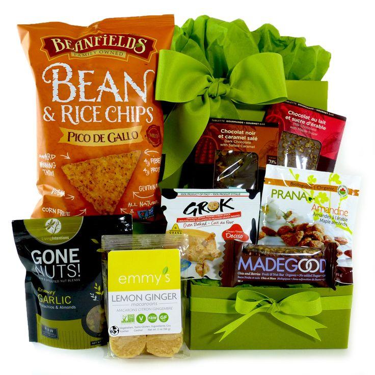 Snacks For The Gluten-free Gourmet Gift Basket.