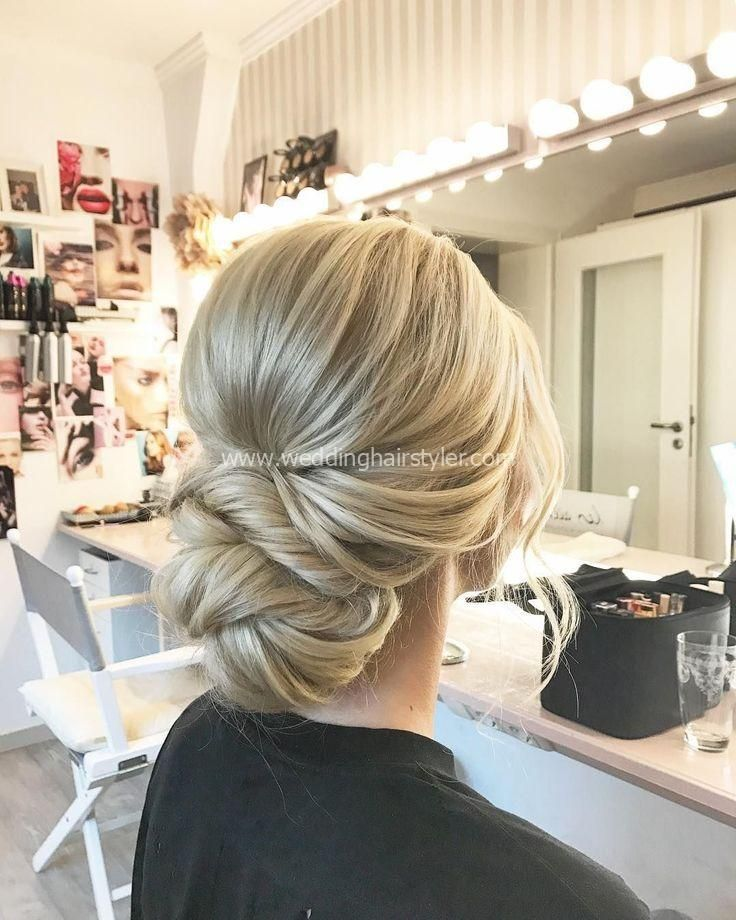 unique updo, messy updo, back bridal hairstyle, updo ... #brown hairstyle #unique #shooter