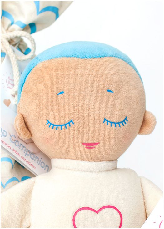 Lulla doll is a great baby shower gift! The Lulla doll was designed as a sleep companion to give babies comfort and a feeling of closeness when their parents need to be away.