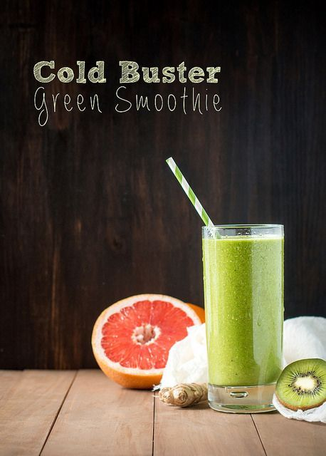 Cold Buster Green Smoothie by WillCookForFriends, via Flickr