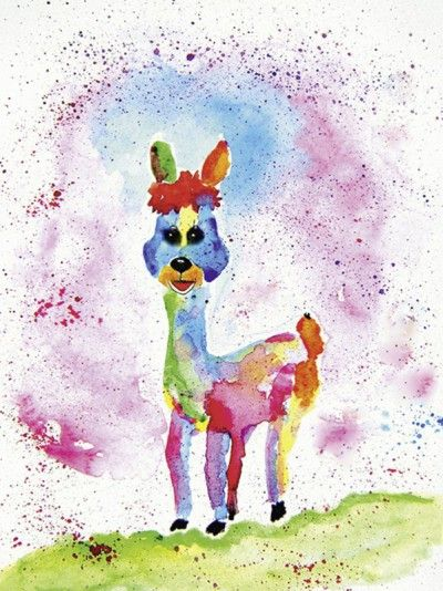 Kinderbilder fürs kinderzimmer katze  58 besten Comic Kinderzimmer-Bilder paintings for kids Bilder auf ...