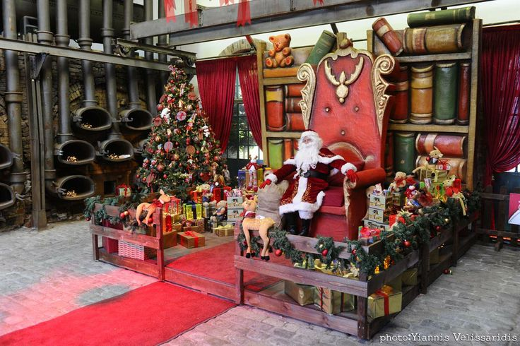 #santa #claus #house #joy #christmas #xmas #merry #thechristmasfactory