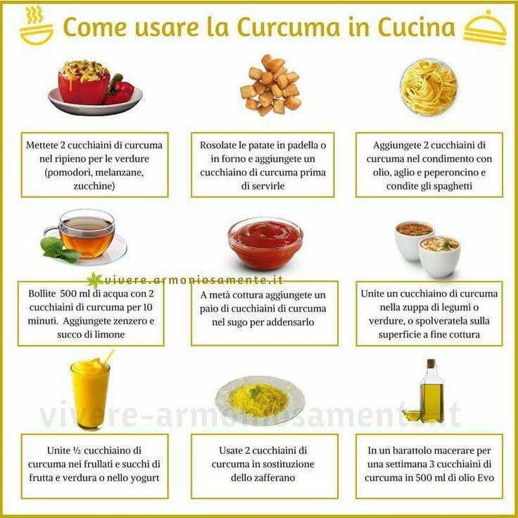 #Curcuma | Come introdurla nelle ricette. www.vivere-armoniosamente.it