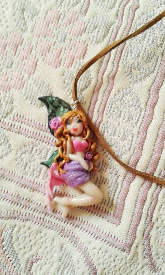 hada fairy kawaii chibi ooak doll kawaii cute jewelry por Marivinix