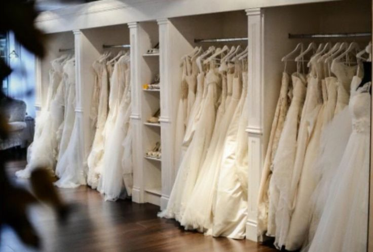 Beautiful wedding dress selection