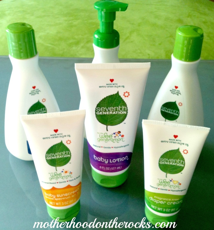 Enter to win a complete line of Seventh Generation's new  natural baby care products, Wee Generation! - Motherhood on the Rocks