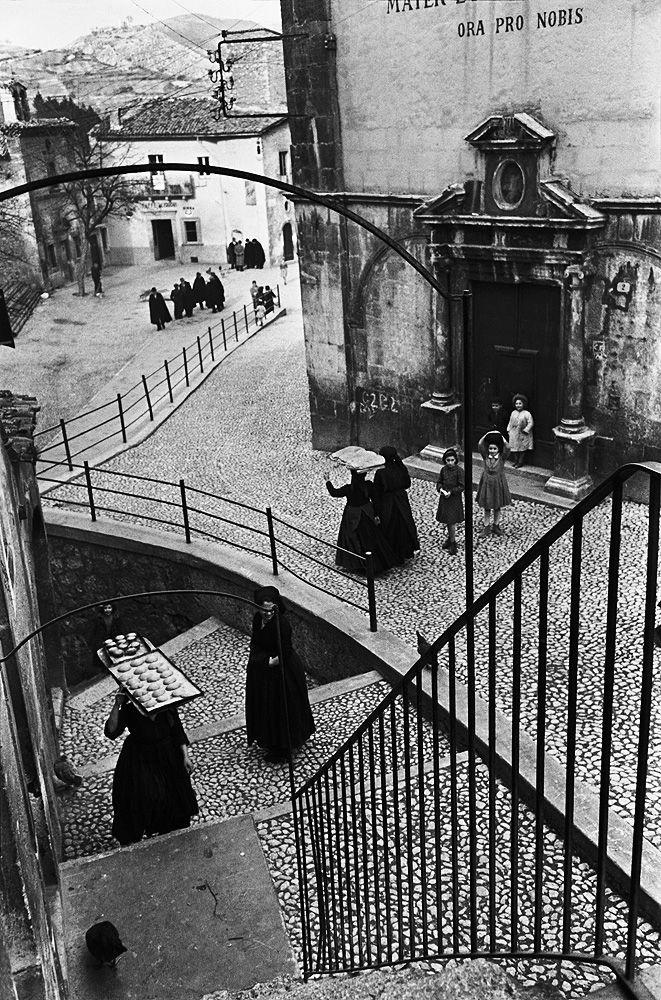 """Henri Cartier-Bresson """"Aquila Degli Abruzzi"""", Italy, 1951"""