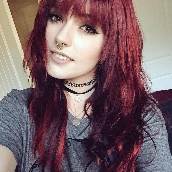 Pin by Hayley Kalmer on Red Hair | Pinterest | Emo scene ... Leda Muir Before Weight Loss