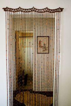 65 Beautiful Bohemian Beaded Curtains Decor Ideas