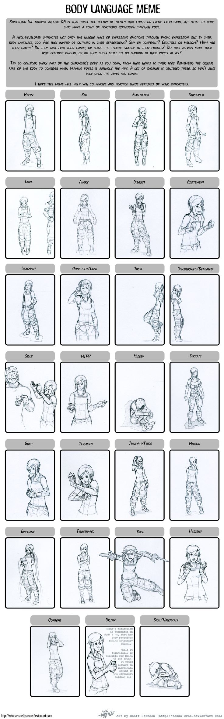 best body language images body language body language meme reina by tekka croe on