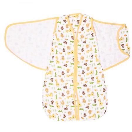 Спальный мешок GlorYes! (3-9 мес.) 2 в 1 Сафари  — 1499р. ------ <p>Обеспечьте спокойный и безопасный сон вашему малышу с 3,5 до 9 месяцев с помощью спального мешка из <strong>нежного муслина</strong>. Мягкий и уютный, он обеспечивает <strong>свободное пеленание</strong>, не сковывая движений малыша. Спальный мешок понравится и папам как простой и быстрый способ свободного пеленания!</p>  <p><strong>Две функции мешка</strong>: пеленание и обычный спальный мешок. Чтобы запеленать, оберните…