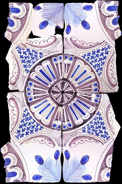 Azulejos antigos no Rio de Janeiro: Centro IX - Sítio Arqueológico no Castelo: Azulejo Til, Art Tiles, Azulejo Antigo, Azulejos Tiles, Azulejos Antigos, Ancient River
