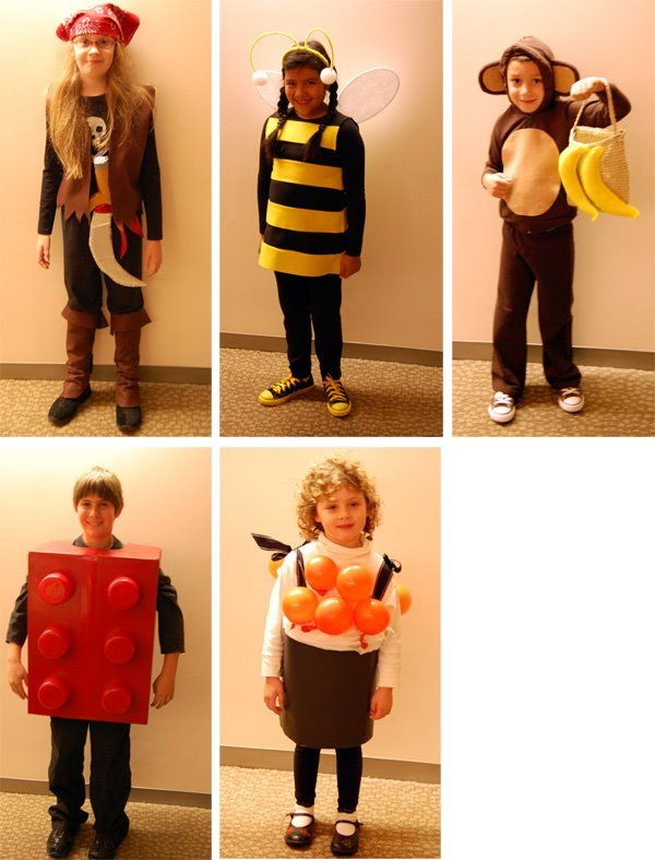 Natalie at Craft just posted these really cute Halloween costumes for kids! Make a pirate bee monkey lego or sushi costume in our quick and easy ...  sc 1 st  Pinterest & 39 best Costume Ideas images on Pinterest | Costume ideas Carnival ...