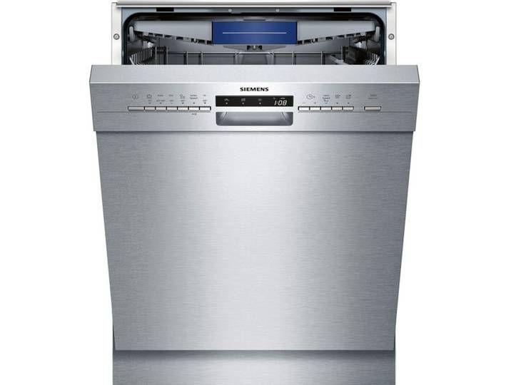 Siemens Sn436s00le Geschirrspuler 60 Cm Edelstahl Washing