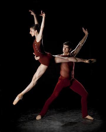 Ballet West. Allison DeBona and Rex Tilton.