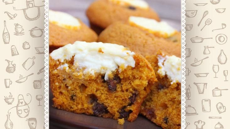 Cupcake de abóbora é delicinha para o Halloween