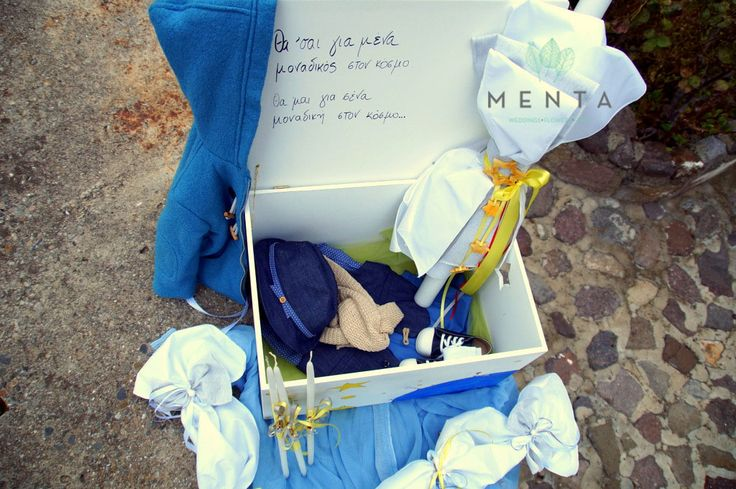 Baptism Box and Clothes  https://www.facebook.com/mentaweddings